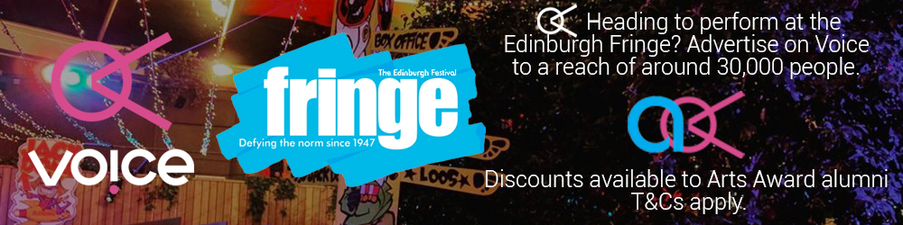 EdFringe AAoV Advert