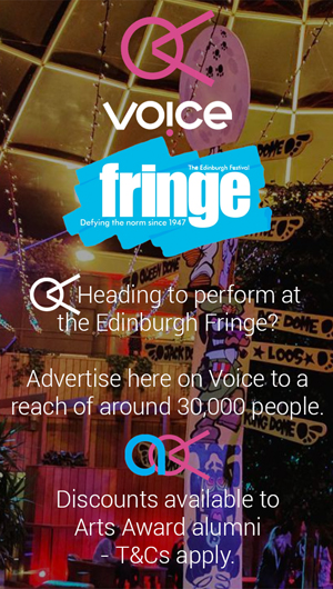 Edinburgh Fringe advert test
