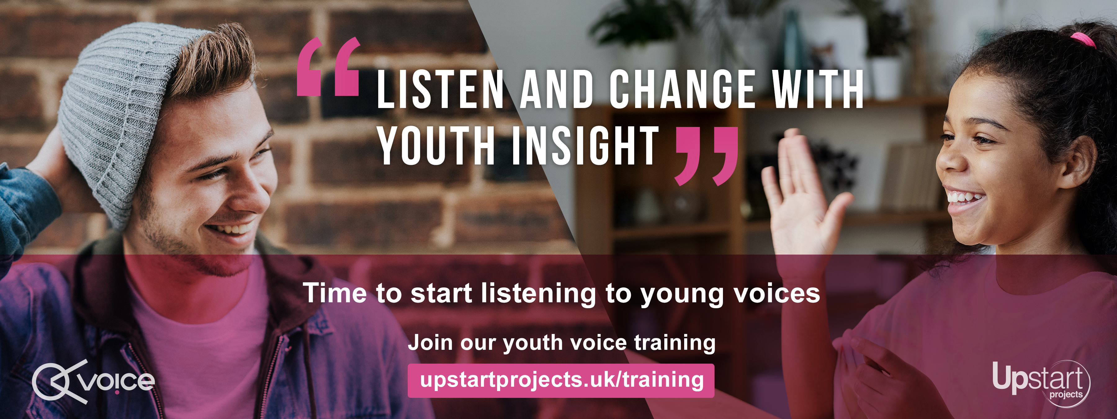 Youth Voice Training by Upstart Projects - Learn how to engage with young peoople