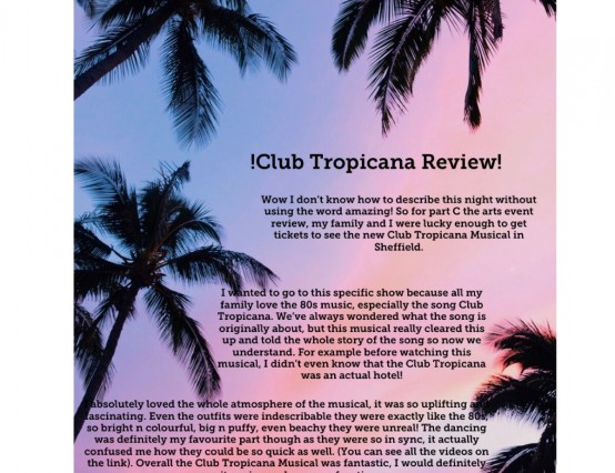 Club Tropicana Musical