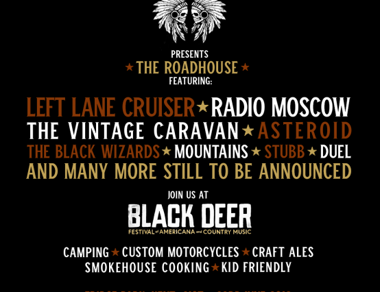 Desertscene To Curate 'The Roadhouse' Stage at Black Deer Festival 2019