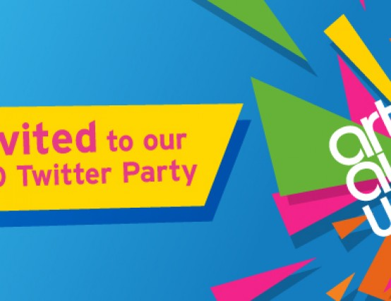 ArtsAward10 Twitter Party
