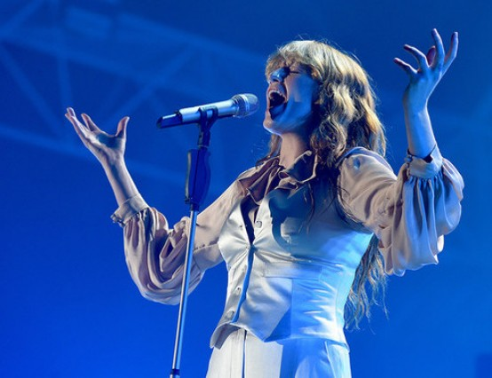 Florence and the Machine at Alexandra Palace