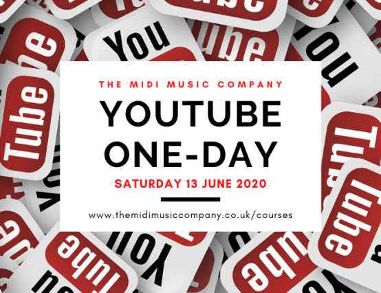 New! Online YouTube one day course for summer