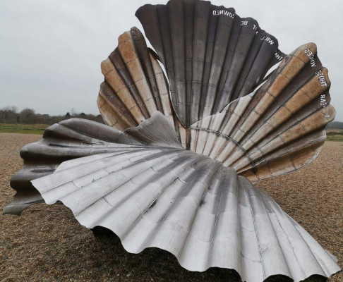 Maggi Hambling's The Scallop review
