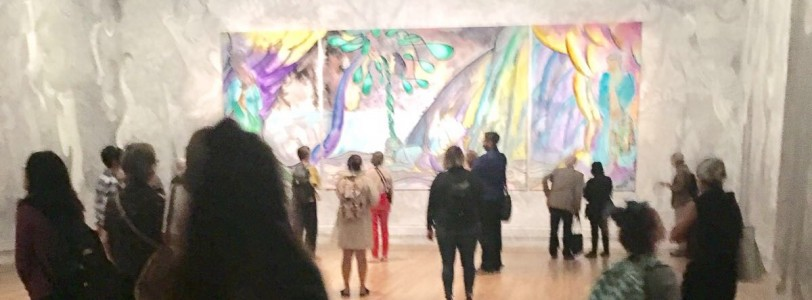 The National Art Gallery - Chris Ofili Weaving Magic exhibition