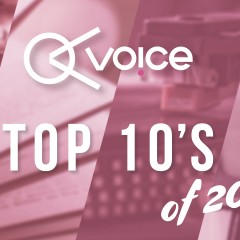 Voice's Top 10's of 2018