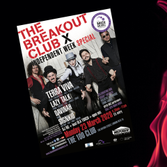 The Breakout Club x Independent Venue Week Special