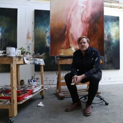 I used to paint walls rather than Old Masters, says artist Jake Wood-Evans
