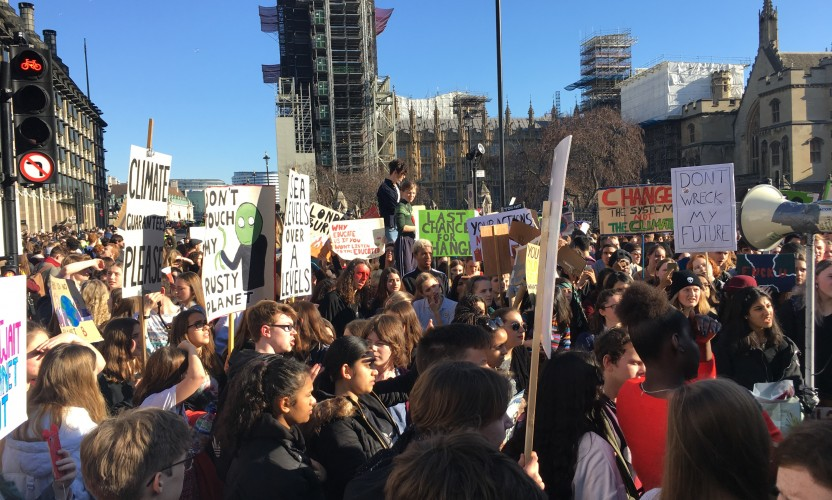 Students demand radical climate action in nationwide strike