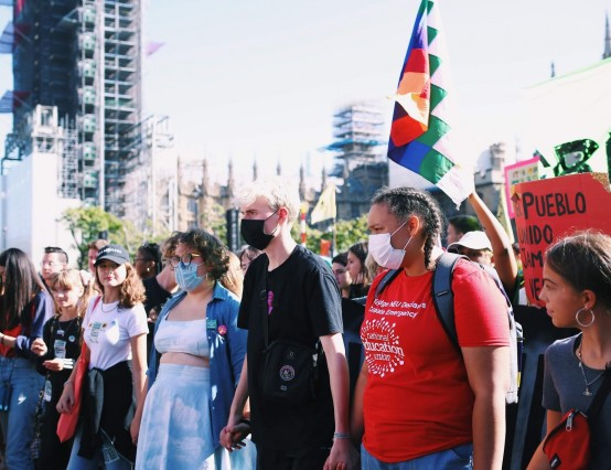 Interview with Talia Woodin, photographer and Extinction Rebellion Youth media coordinator