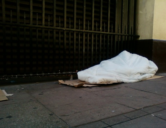 How do people end up homeless?