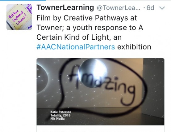 'Creative Pathways' Programme at Towner Art Gallery, Eastbourne