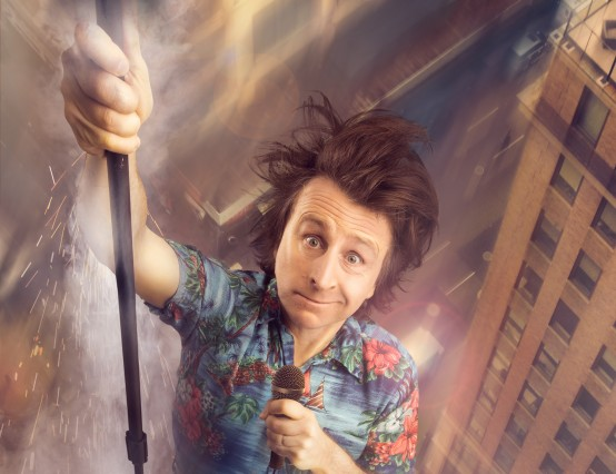 Milton Jones on Mock the Week, a career in comedy, and potatoes