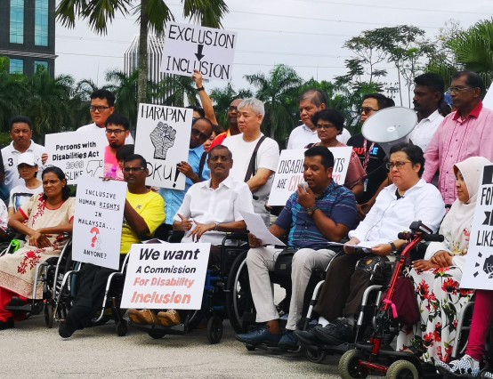 Galvanizing support ... the Hope of Persons with Disabilities coalition in Malaysia