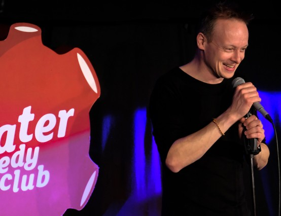 Komedia's Krater Comedy Club Goes Online to Raise Dontions