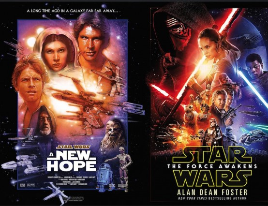Deja-View: Star Wars: A New Hope and Star Wars: The Force Awakens